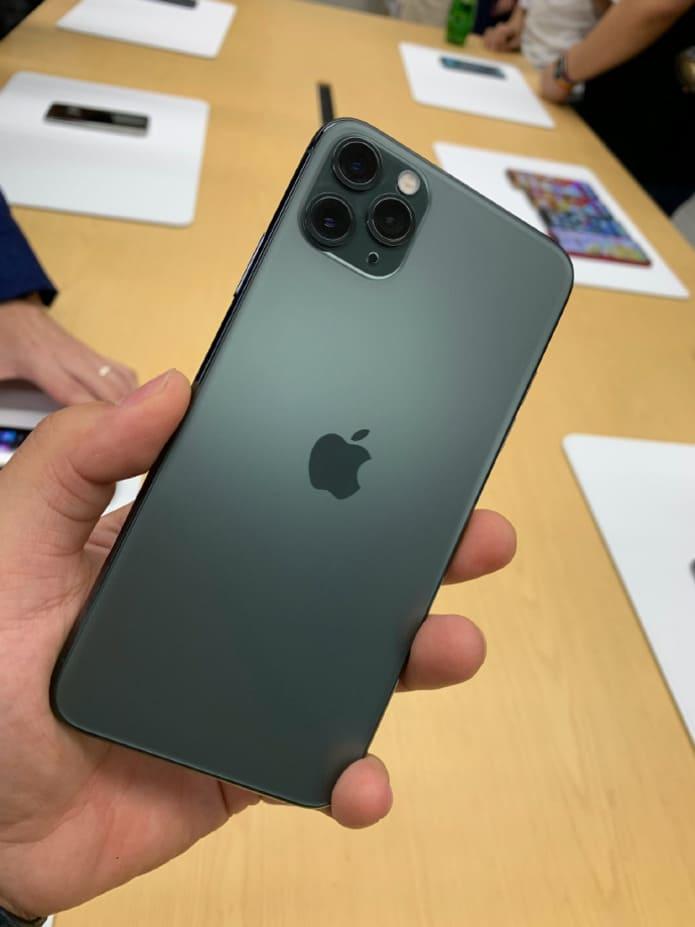 iphone 11 pro живые фото