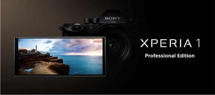 Sony Xperia 1 Professional Edition представлен в Японии с 4K-дисплеем