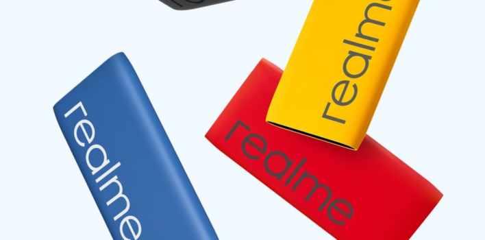 Power Bank Realme Classic Blue емкостью 10000 мАч с быстрой зарядкой (USB Type-C)