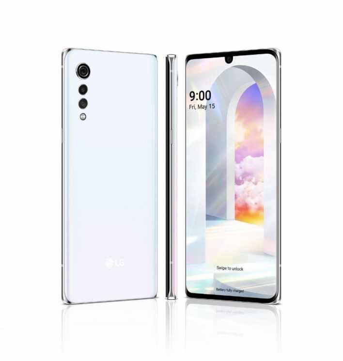 LG VELVET: компания показала свое видение стильного и современного смартфона