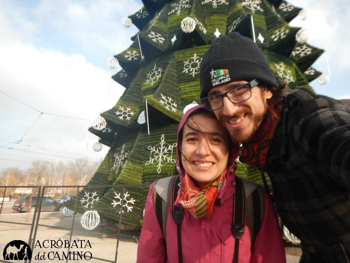 El espíritu navideño, también presente en Transnistria.