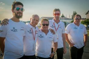 Siegerehrung, das österreichische Team - Copyright: Ruda Jung