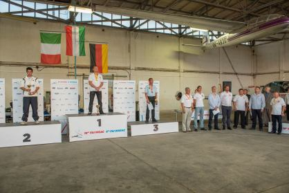 Siegerehrung, Gesamtwertung Unlimited (Vollautomaten) - Copyright: Ruda Jung