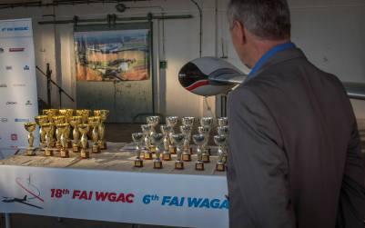Die Pokale (es sind aber schon ein bisschen viele) - Copyright: Ruda Jung