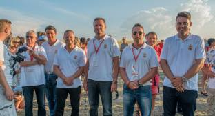 Siegerehrung, das ungarische Team - Copyright: Ruda Jung