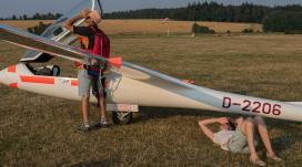 Gleich geht Wolfgang in die Luft - Copyright: Ruda Jung