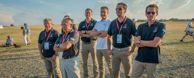 Siegerehrung, das französische Team - Copyright: Ruda Jung