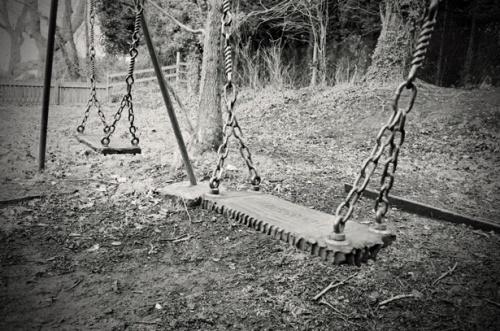 old child swing