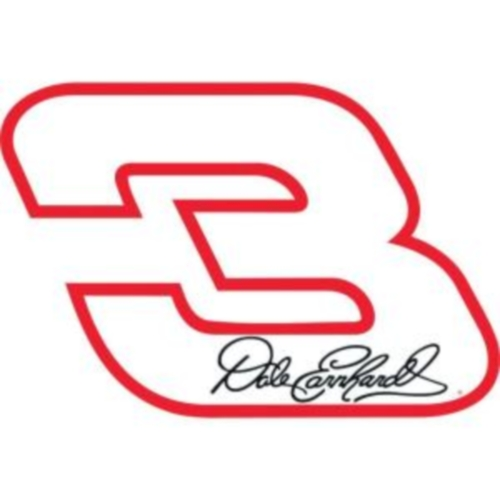 Dale Earnhardt Number 3 With Signature
