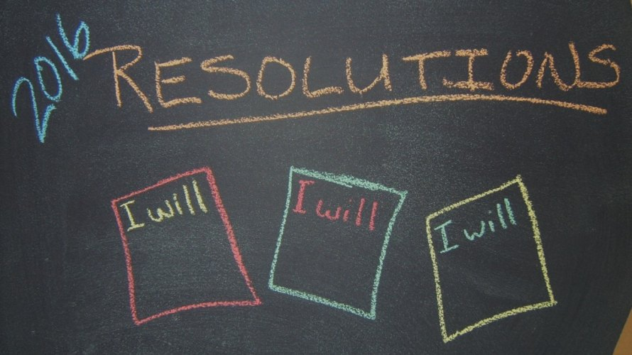 2016 Resolutions in Chalk