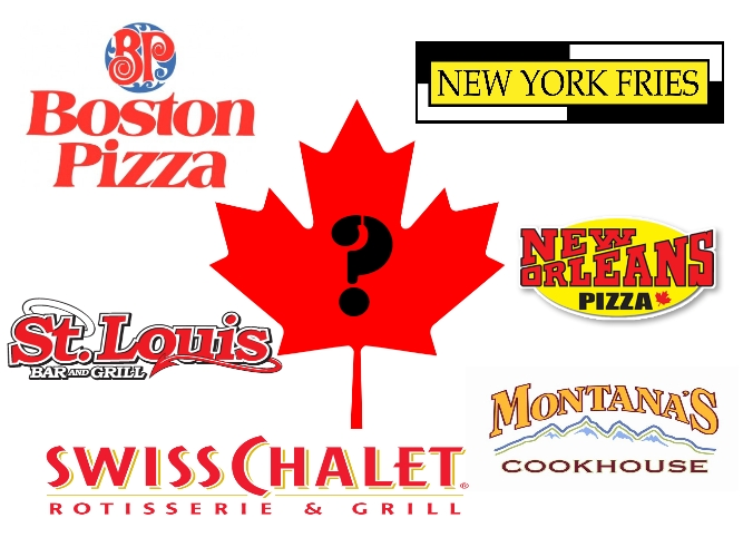 Traitorous Canadian Restaurants