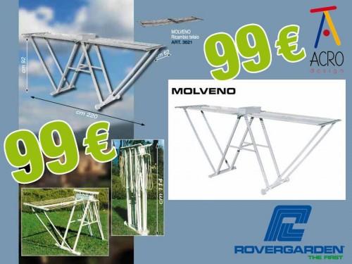 OFFERTA StendibiancheriaStendino Molveno da ESTERNO in PP a 99  Acro Design complementi d