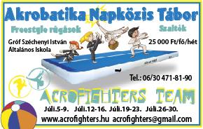 Akrobatika tábor 2021