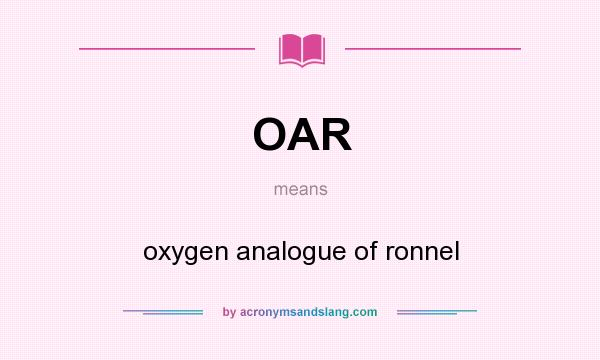 what country abbreviation is oar 3