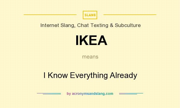 What Does Ikea Mean