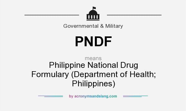 PHILIPPINE NATIONAL DRUG FORMULARY DOWNLOAD
