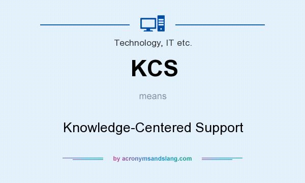 kcs knowledge centered support