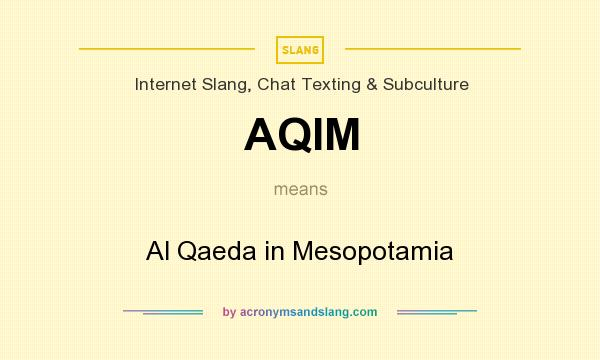 2007: Al Qaeda in Mesopotamia, a Sunni Arab extremist group that claims to have an affiliation with Osama bin Laden's network, though the precise relationship is unknown.