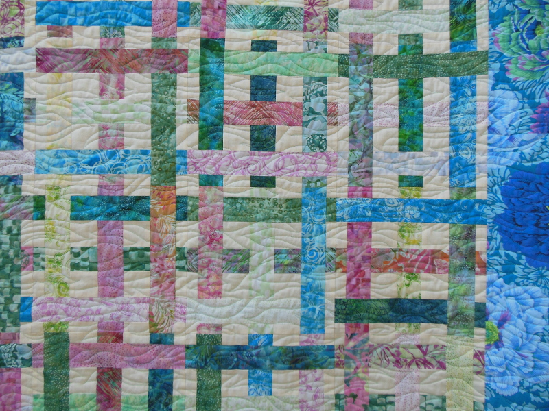 Acropatch-Motif-Quilting-VAGUE-plaid-fil-uni-bleu-clair