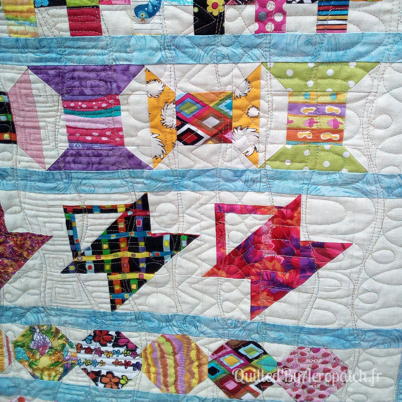 Acropatch-Plaid-Row-quilt-Motif-Quilting-MEDLEY-fil-multicolore-pastel