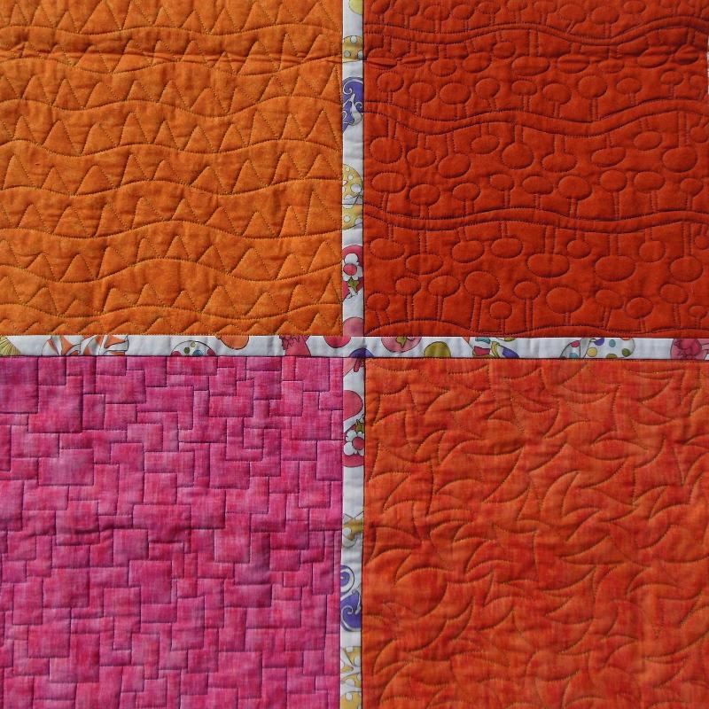 Acropatch-motif-quilting-DENTS DE LA MER-panneau-mural-sampler-motif-quiltage-détails