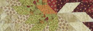Panneau-mural-Motif-Quilting-Puzzle-fil-beige-détails