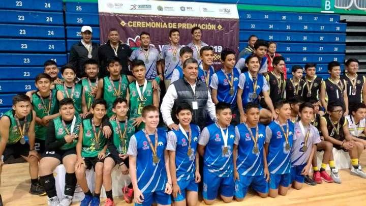 Municipios de Cuitláhuac y Xalapa destacan en voleibol, de OE 2019