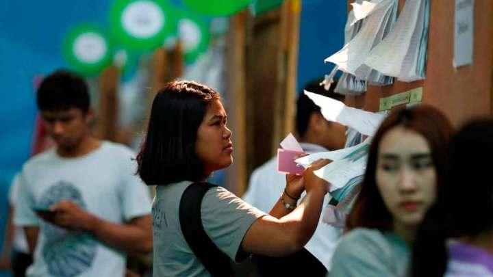 Acudirán tailandeses a las urnas después de ocho años