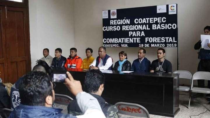 Realiza PC curso combatiente forestal