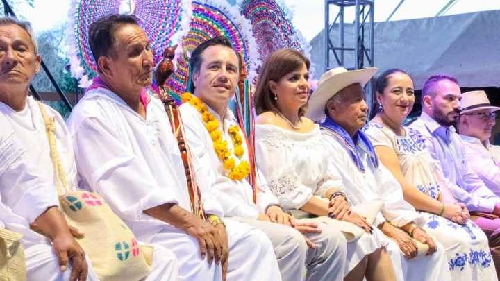 Cultura totonaca, ejemplo de transformación y orgullo de Veracruz: Gobernador
