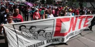 El presidente, Andrés Manuel López Obrador, adelantó que el próximo lunes recibirá en Palacio Nacional a dirigentes de la Coordinadora Nacional de Trabajadores de la Educación (CNTE) y del Sindicato Nacional de Trabajadores de la Educación (SNTE).