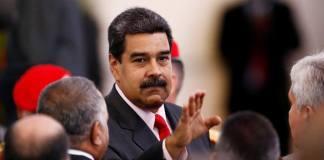 El mandatario venezolano, Nicolás Maduro celebró un año como presidente reelegido, con un insistente llamado a un nuevo diálogo con la oposición que no comprometa su poderío en el país petrolero.