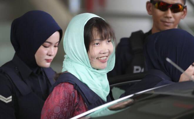 Liberan a vietnamita acusada del asesinato de Kim Jong-nam