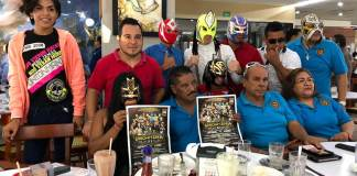 Fue presentada la Función de Lucha Libre Veracruzana denominada UNIONMANÍA que se realizará en su edición #11 este domingo en la Arena Unión, ubicada en la Colonia Dos Caminos.