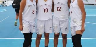 La delegación de Veracruz se agenció la medalla de bronce en la disciplina de baloncesto 3x3, categoría 2002-2003 en la Olimpiada Nacional 2019, la cual se realizó en la ciudad de Chihuahua.