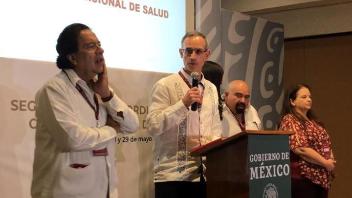 Productiva Segunda Reunión del Consejo Nacional de Salud: López-Gatell