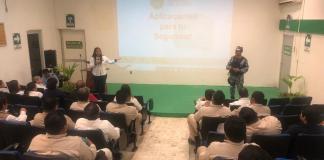 La Secretaría de Seguridad Pública (SSP) inició el programa de Redes Vecinales, Prevención de la violencia contra la mujer y Escuela segura, en la cual se promueve la cultura de prevención en Coatzacoalcos.