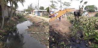 El alcalde de Coatzacoalcos, Víctor Manuel Carranza Rosaldo, continúa implementando el programa de limpieza de 10 canales pluviales ubicados en la parte baja y alta de la ciudad, donde serán beneficiados alrededor de 70 mil personas.