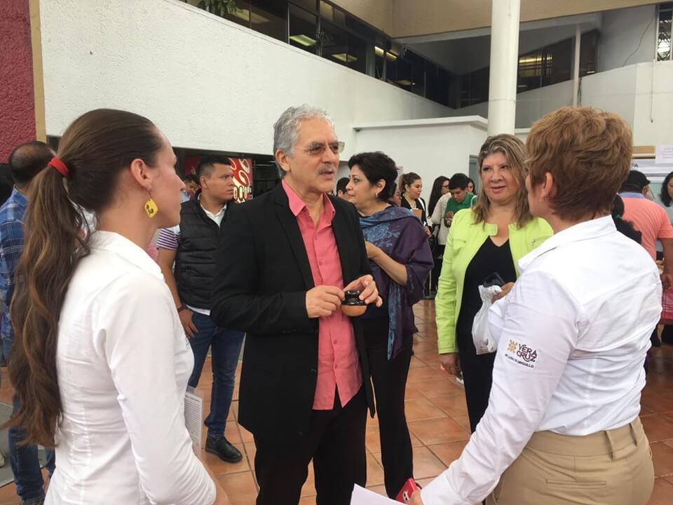 """Se inauguró la feria """"Sin Contaminación del Aire"""", en las instalaciones de la Secretaría de Educación de Veracruz (SEV), como parte de las actividades conmemorativas del Día Mundial del Medio Ambiente."""
