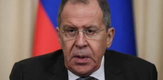 El canciller ruso, Serguei Lavrov aseguró que Rusia no puede y nunca apoyará la solución a la crisis política en Venezuela por medios militares.