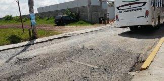 Vecinos del Fraccionamiento Bugambilias, perteneciente al municipio de Emiliano Zapata, denunciaron las malas condiciones de las calles, que han generado daños en automóviles que circulan en este lugar.