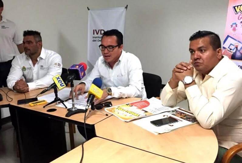 El titular del Instituto Veracruzano del Deporte, Víctor Iván Dominguez se presentó oficialmente como el nuevo dirigente deportivo en la entidad, en su ponencia realizó un balance de los resultados recientes obtenidos por los veracruzanos en Olimpiada Nacional 2019.