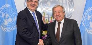 El Secretario General de Naciones Unidas dio la bienvenida al Plan de Desarrollo Integral, que refleja los esfuerzos encabezados por los Estados Unidos Mexicanos para responder a las causas fundamentales de la movilidad humana en Centroamérica.