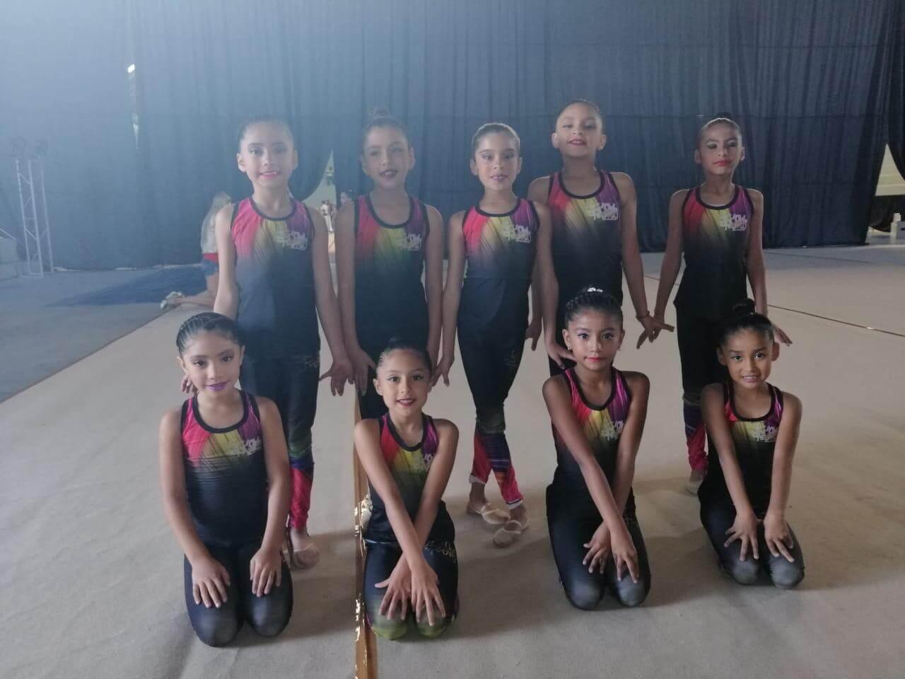 Con positivos resultados retornaron las gimnastas integrantes de Club de Oro Veracruz, quienes participaron en el selectivo denominado Copa Petrova 2019, efectuado en la Ciudad de México.