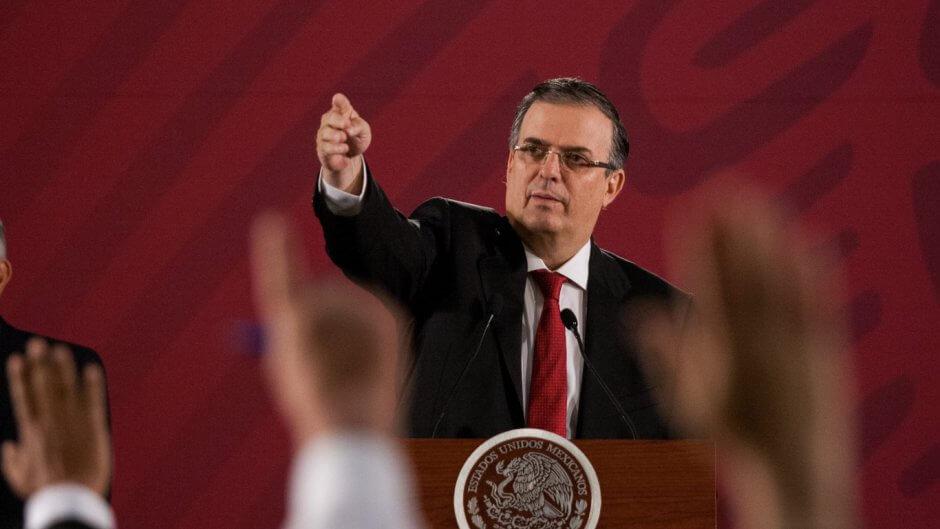 El canciller, Marcelo Ebrard Casaubon rechazó que el acuerdo alcanzado con la nación vecina del norte, acerca de los aranceles a México, busque criminalizar a la migración o militarizar la frontera.