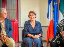 La embajadora de Francia en México, Anne Grillo afirmó que la voluntad de su país es reforzar sus lazos con Xalapa, una ciudad con la que tenemos cooperación en muchos ámbitos, y apoyar en temas de prioridad para su desarrollo económico, como la agricultura, la ecología, movilidad, educación y sobre todo cultura.
