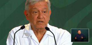 Durante su conferencia mañanera desde el puerto de Veracruz, el presidente, Andrés Manuel López Obrador aseguró que existe un ambiente favorable para ejercer diálogo entre el Gobierno de México y el de Estados Unidos, para resolver el tema de los aranceles a las exportaciones mexicanas.