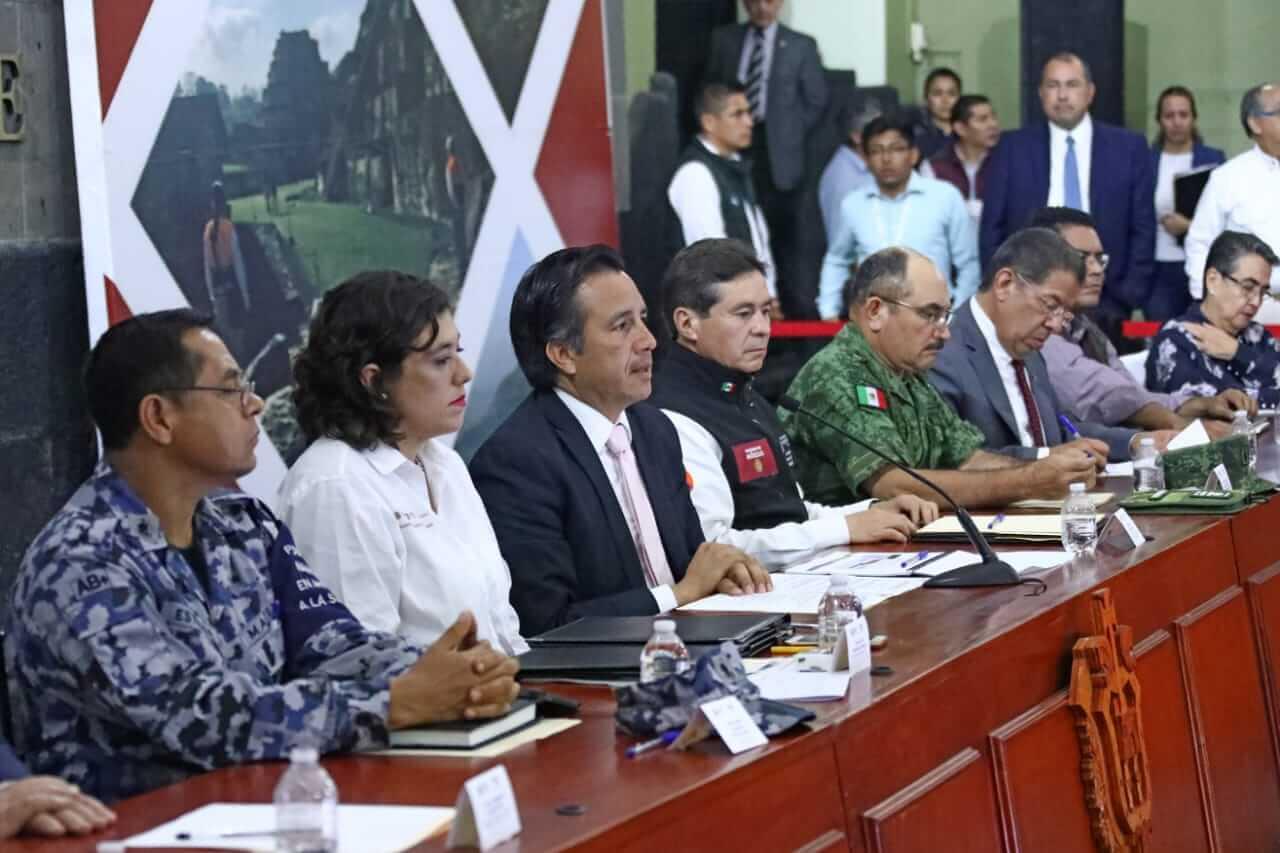 Este lunes, se realizó la Primera Sesión Ordinario del Consejo Estatal de Protección Civil para la temporada de lluvias y ciclones tropicales.