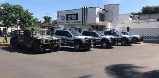 La Secretaría de Seguridad Pública (SSP), en coordinación con Defensa Nacional (SEDENA) y Marina Armada de México (SEMAR) relevó a la Policía Municipal de Mixtla de Altamirano.