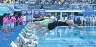 La selección veracruzana de natación concluyó su participación en la Clase B, dentro del Campeonato Nacional Curso Largo que se desarrolla en el Centro Acuático Leyes de Reforma.
